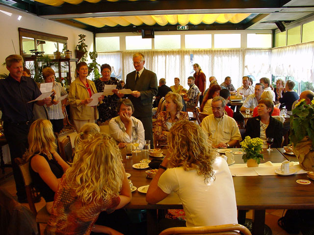 Borrel in de Basserhof