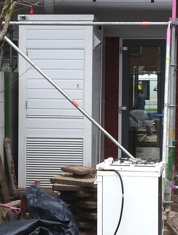 Een optimale installatie buiten de deur