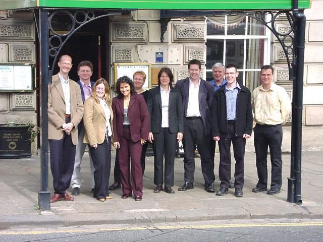 Meeting at Huddersfield - Engeland (foto Cees Bakker)