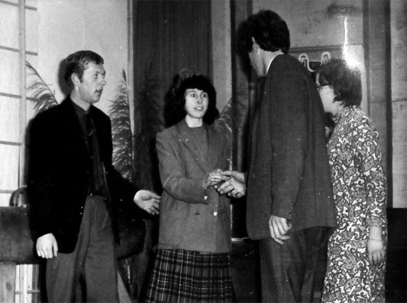 'Roland ons kind', met Paulien, Adri en Thea