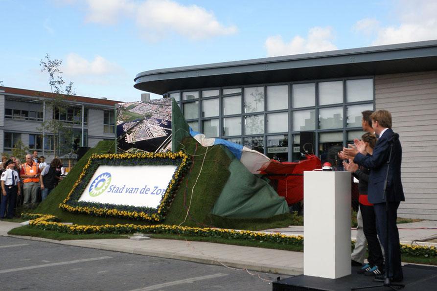 Opening door Prins Willem Alexander 23 spt 09