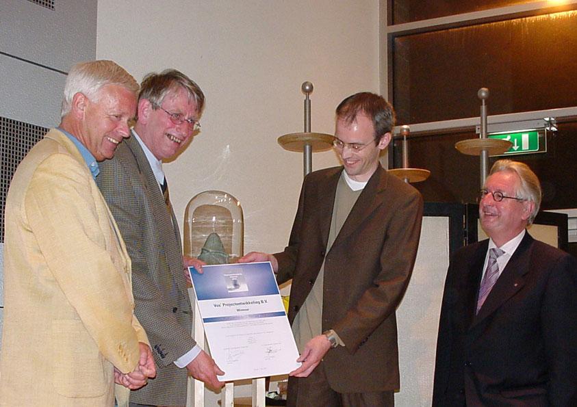 Duurzaamheidsprijs Alkmaar 2002 voor VPO