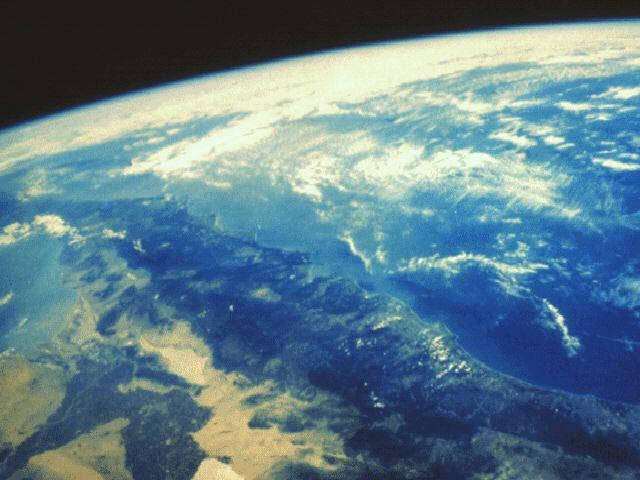 De aarde vanuit de ruimte: het is onze enige...