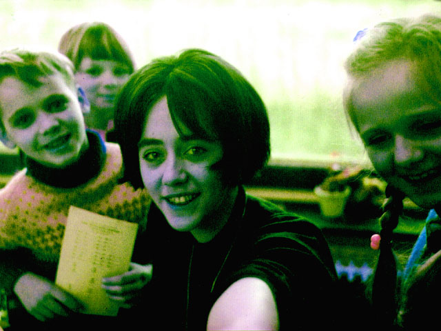 Juf Marian werkte haar eerste vier jaren met dezelfde groep van Klas 1 t/m 4.