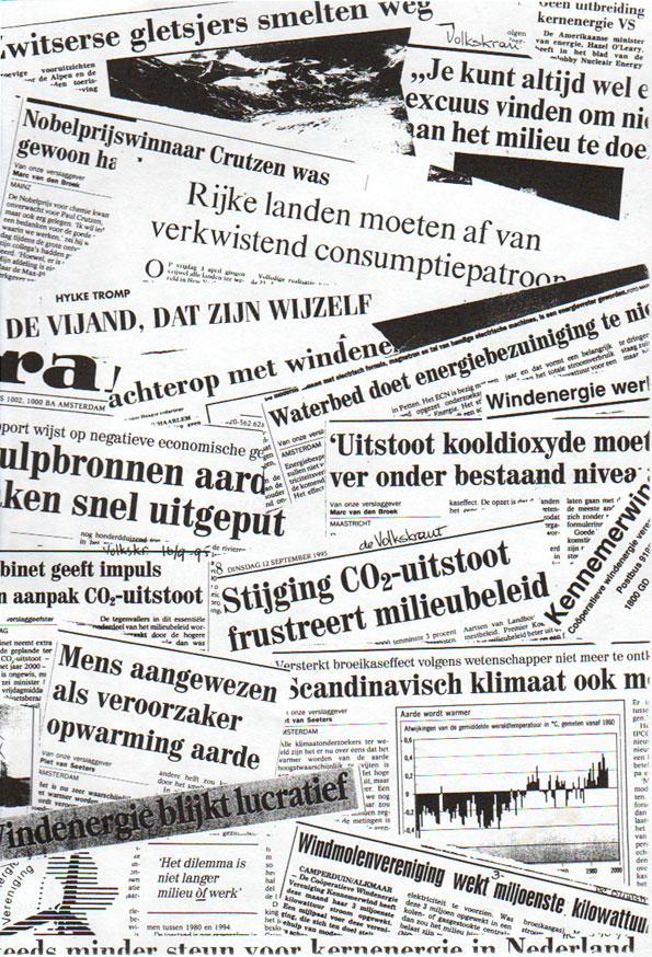 Het klimaatprobleem al 20 jaar in de pers...