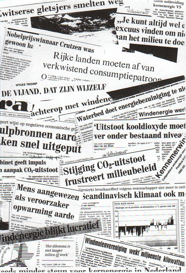 Krantenknipsels uit 1995; wat is er verbeterd?