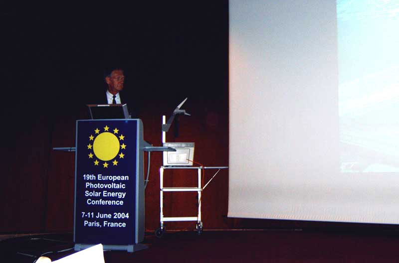Presentatie in 'Palais de Congres' te Parijs