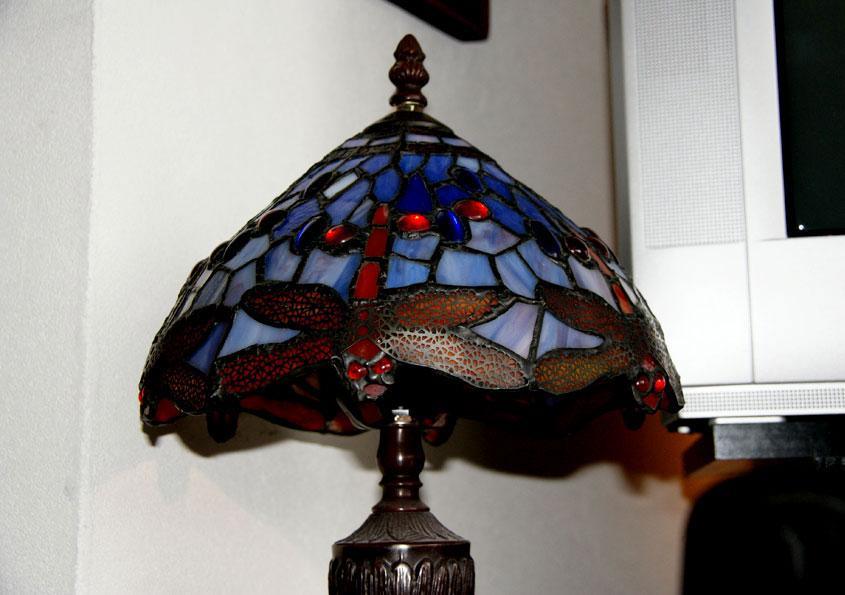 sfeerlampje niet bedoeld voor fel licht, dus kleine LED