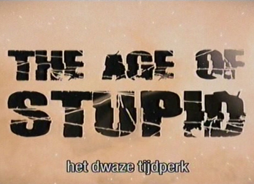 The age of stupid, still uit de film