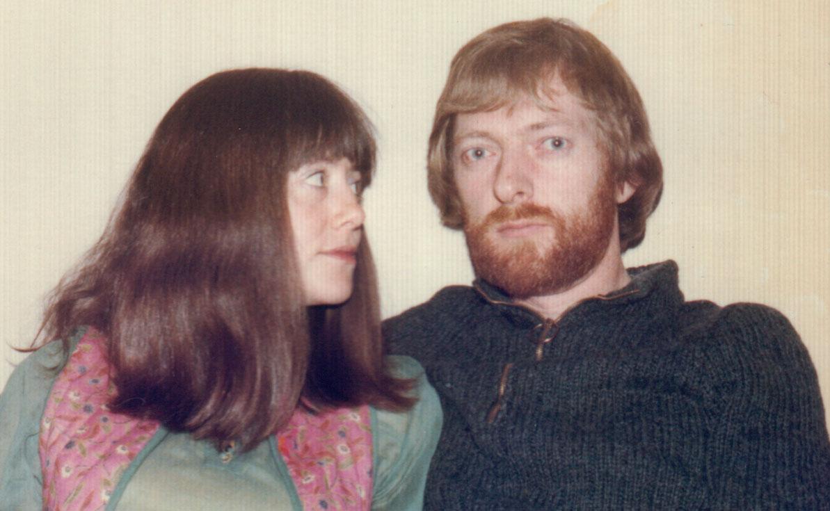 Thuis, de dag na de bruiloft op 17 juni 1978