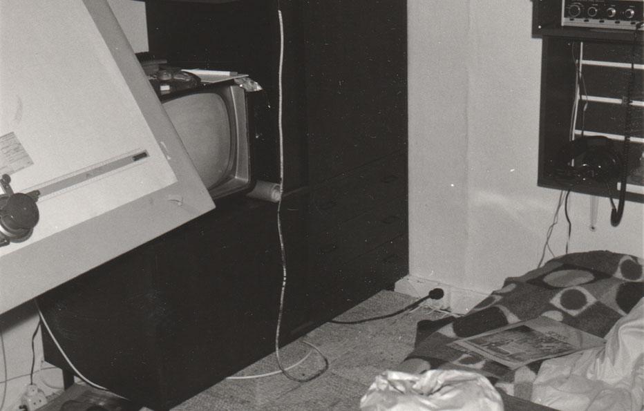 Mijn woon-werk-slaapkamer halve-woning in Amsterdam