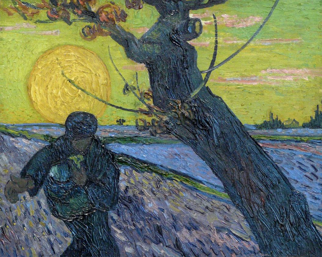 De Zaaier - Vincent van Gogh - Kröller-Möller museum