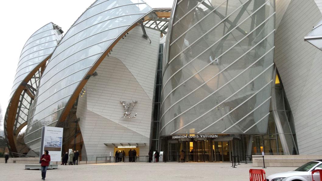 De entree van het museum