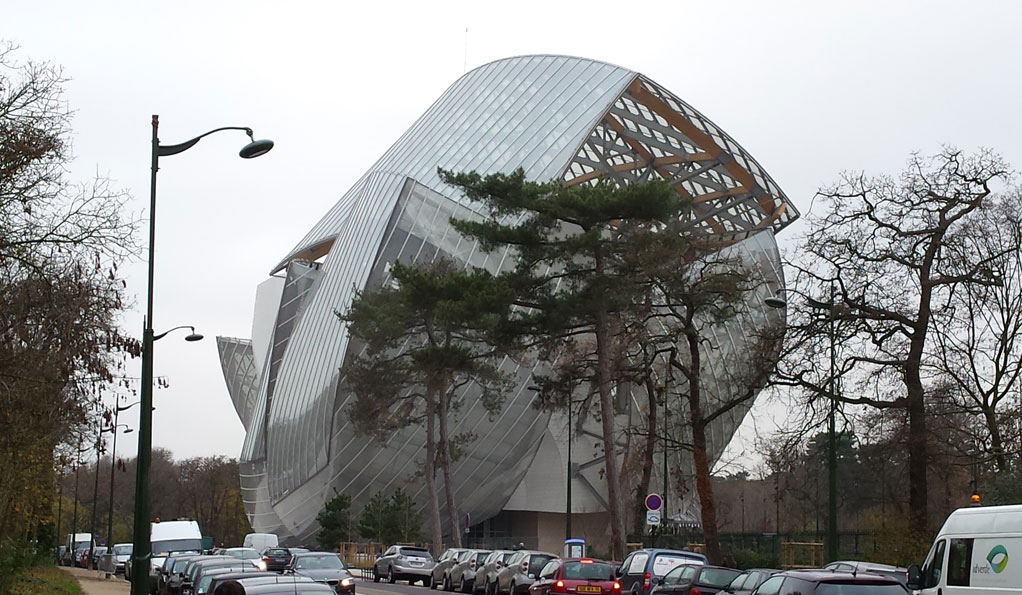 Nieuwste museum in Parijs: Fondation Louis Vuitton