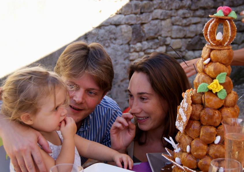 Tweede verjaardag van Louise: wat een taart!!