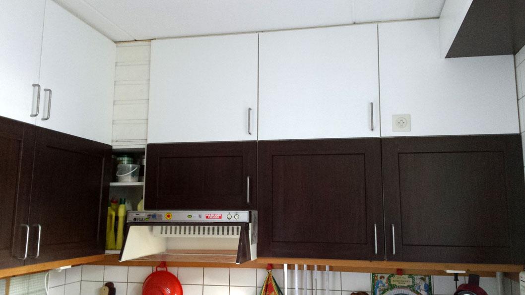 keuken vernieuwd