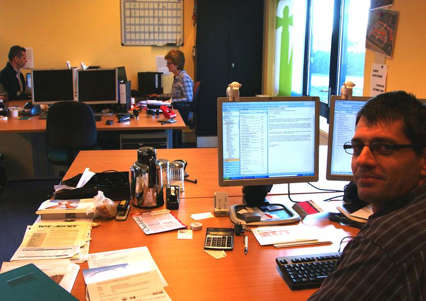 Texel Energie met (oud) directeur Brendan de Graaf