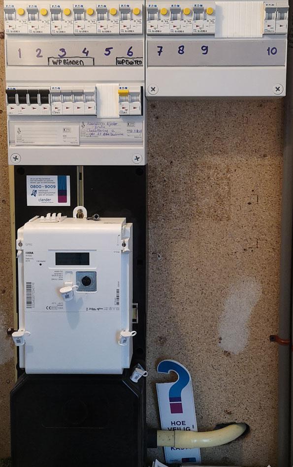 Slimme meter Elektriciteit mei 2019